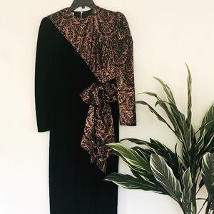 Vintage Scott McClintock Dress